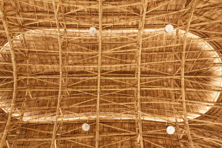 Bamboo Sports Hall @ Panyaden School - Photos by Alberto Cosi; courtesy of Chiangmai Life Architect.
