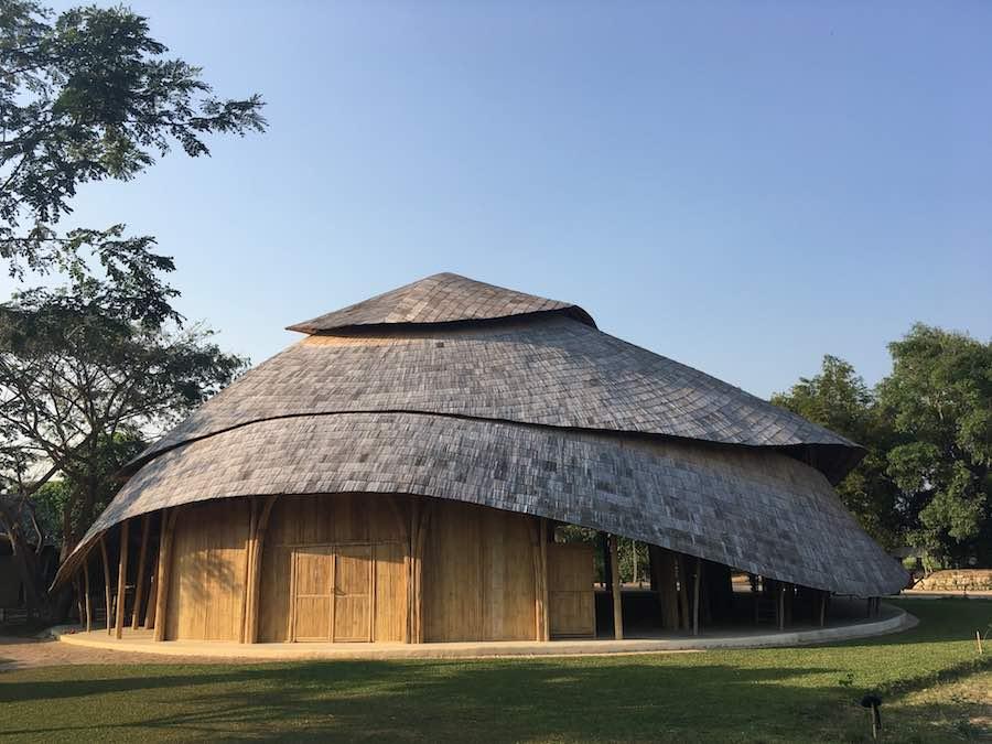 Bamboo Sports Hall @ Panyaden School - Photos by Markus Roselieb; courtesy of Chiangmai Life Architect.