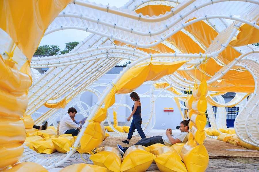 SelgasCano, Pavillon Martell - Ph. by Fondation d'entreprise Martell.