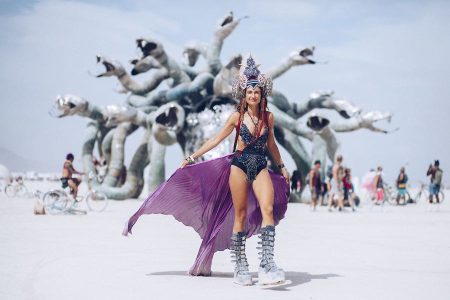 Black Rock City, Burning Man 2017 - Photo by Duncan Rawlinson, Duncan.co.