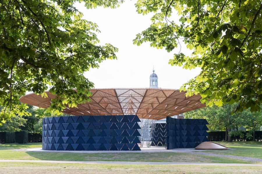 Summer 2017 - Serpentine Pavilion by Francis Kéré @ Serpentine Gallery, London - Photo: © Kéré Architecture, Photography © 2017 Iwan Baan.