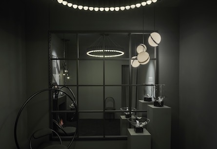 Lee Broom's all-black mirror illusion