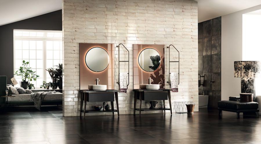 Cersaie 2017. Bathroom by Diesel Open Workshop - Scavolini+Diesel.