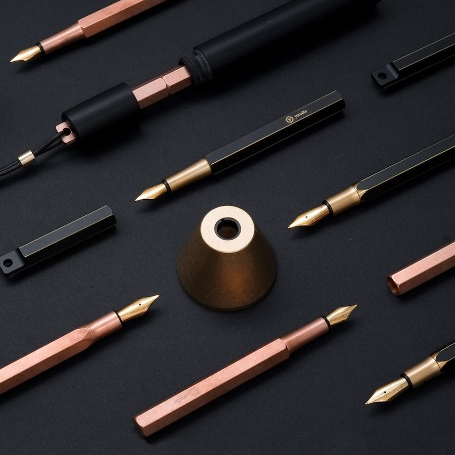 Fountain Pens by ystudio - Photo by of ystudio.