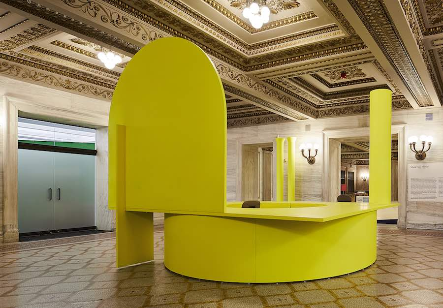 Ania Jaworska - Photo by Kendall McCaugherty. courtesy of Chicago Architecture Biennial.