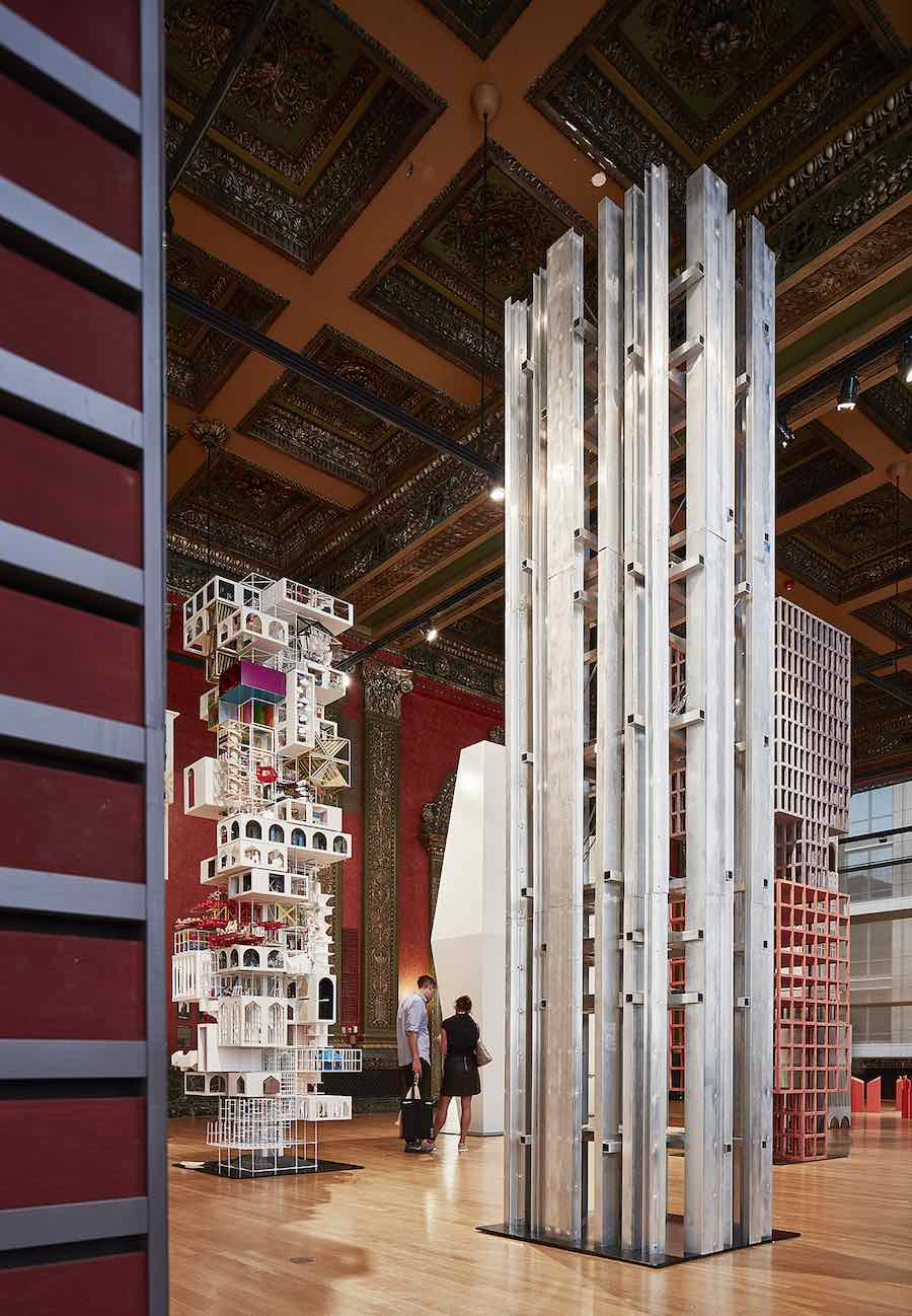VERTICAL CITY, Ensamble studio - Photo by Tom Harris. courtesy of Chicago Architecture Biennial .