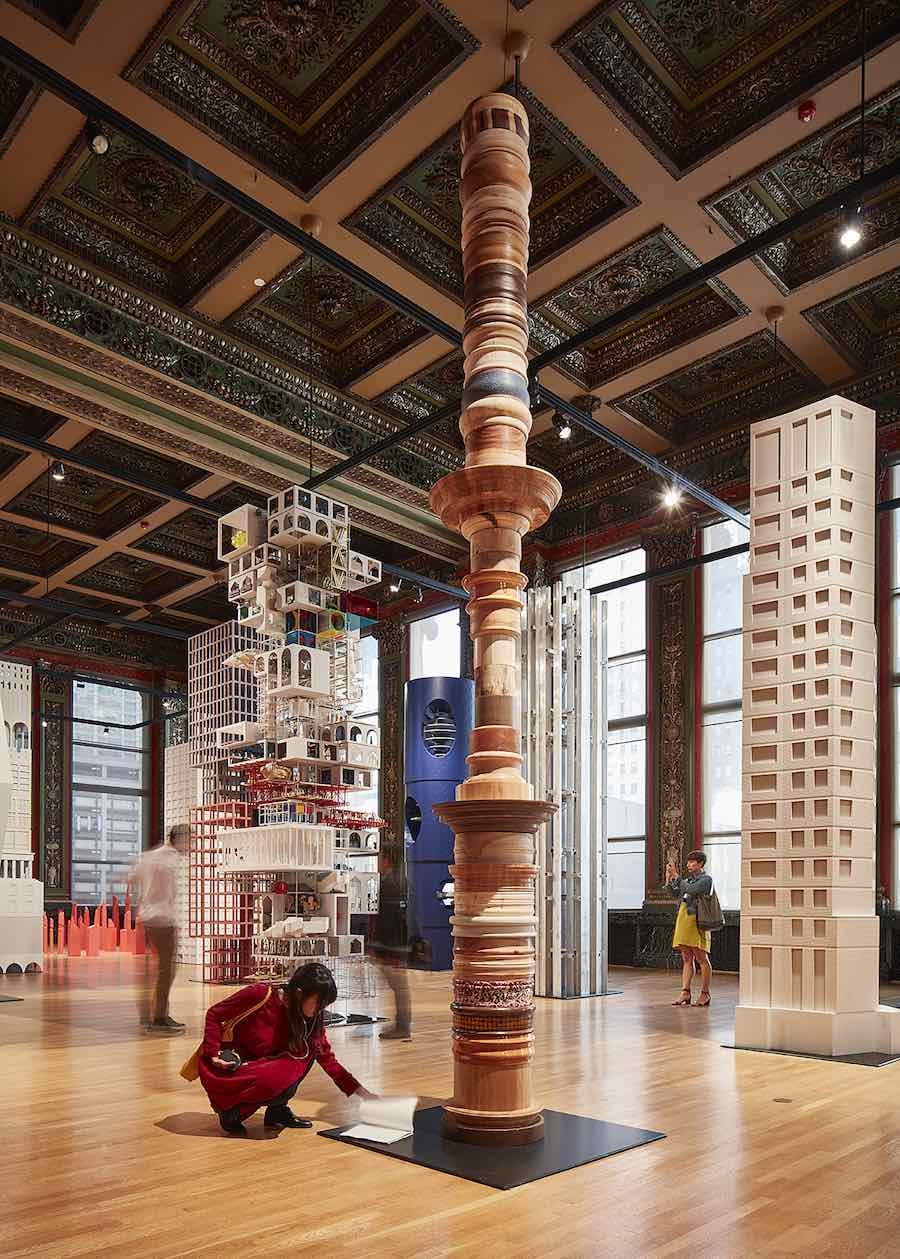 VERTICAL CITY, 6a Architects - Photo by Tom Harris. courtesy of Chicago Architecture Biennial .