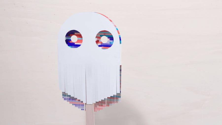 WIND SENSOR Papier Machine by Marion Pinaffo and Raphael Pluvinage