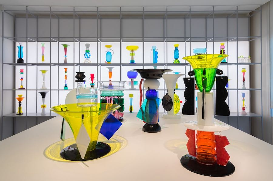 Ettore Sottsass: The Glass @ LESTANZEDELVETRO. Photo by Enrico Fiorese.