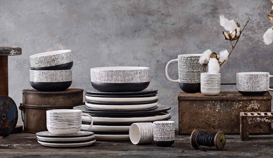 Convivial Tableware Design @ Maison&Objet. RAWW tableware collection by Salt&Pepper - Photo: courtesy of Salt Pepper.