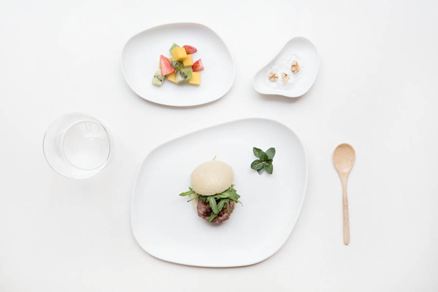 Convivial Tableware Design @ Maison&Objet. YAYOI collection by Ana Roquero for Cookplay - Photo Courtesy of Cookplay.