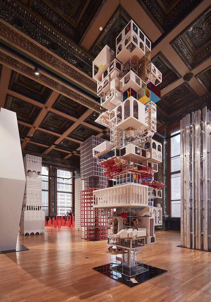 VERTICAL CITY, Tatiana Bilbao - Photo by Tom Harris. courtesy of Chicago Architecture Biennial .