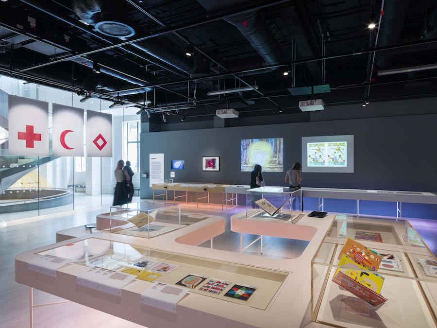 Can Graphic Design Save Your Life? exhibition at Wellcome Collection - Photo by Andrew Meredith for Universal design Studio.