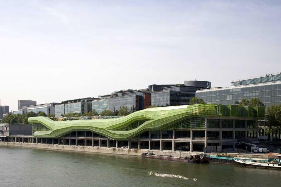 Docks, Cité de la Mode et du Design © Jakob + Macfarlane.