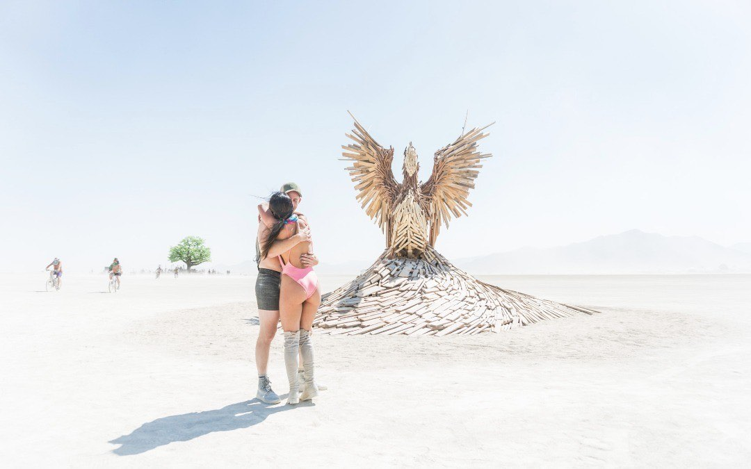 Burning Man 2017: Phoenix Rising - Photo by Curtis Simmons - CC BY 2.0.