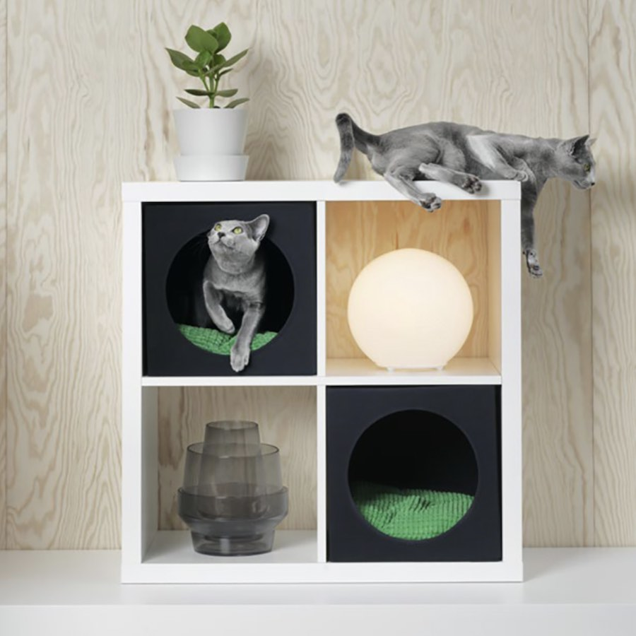 Cat-friendly designs - Courtesy of IKEA.