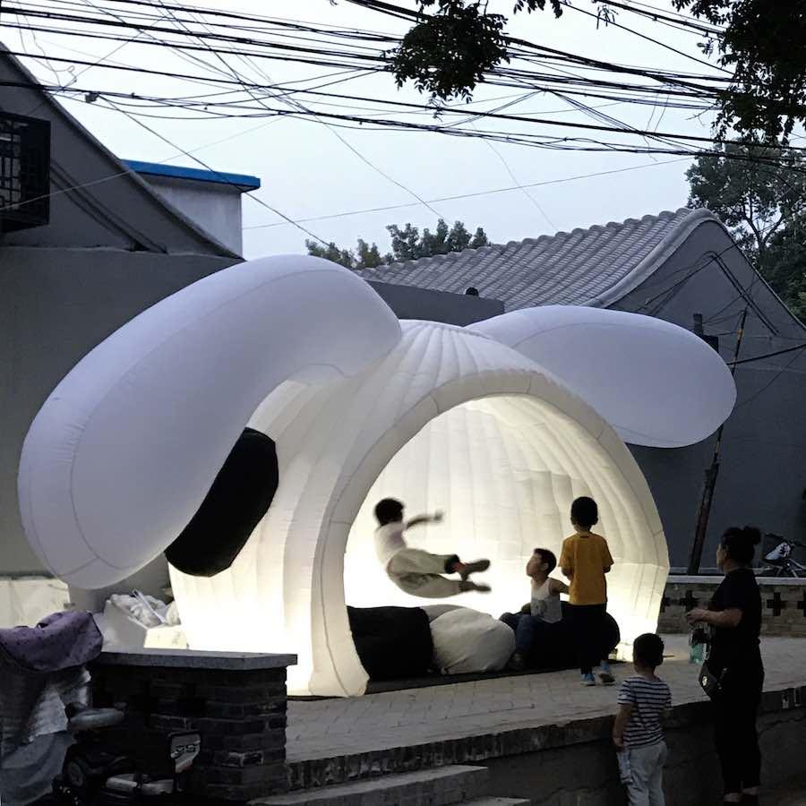 MAD's WONDERLAND pavilion in Beiijng.