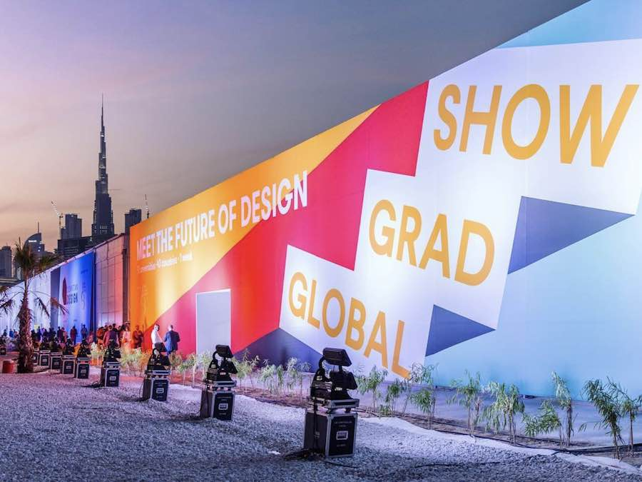 Global Grad Show @ Dubai Design Week 2017 - Photo by @photosolutions.me via @globalgradshow, IG.