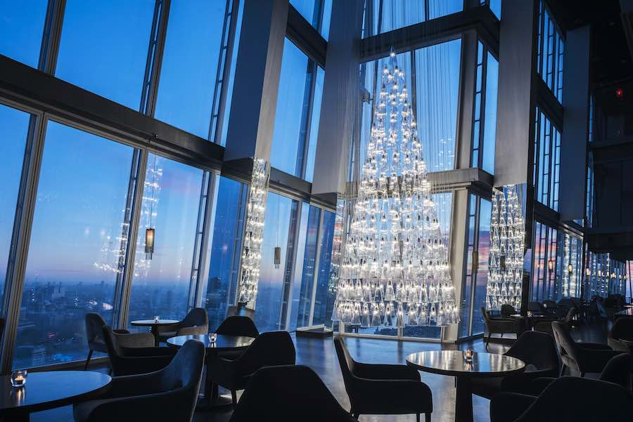 """Lee Broom's Christmas """"Tree of Light"""" - Photo by David Cleveland. Courtesy of Lee Broom."""
