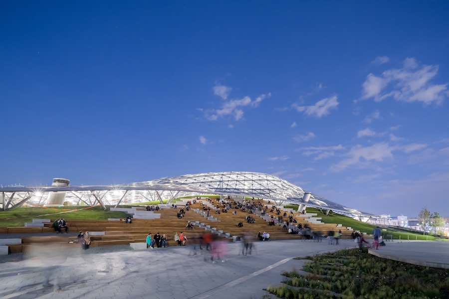 Zaryadye Park - Photo by Iwan Baan, courtesy of Diller Scrfido + Renfro.