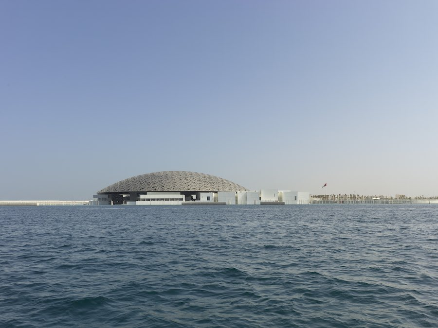 Photo by © Roland Halbe - courtesy of Louvre Abu Dhabi