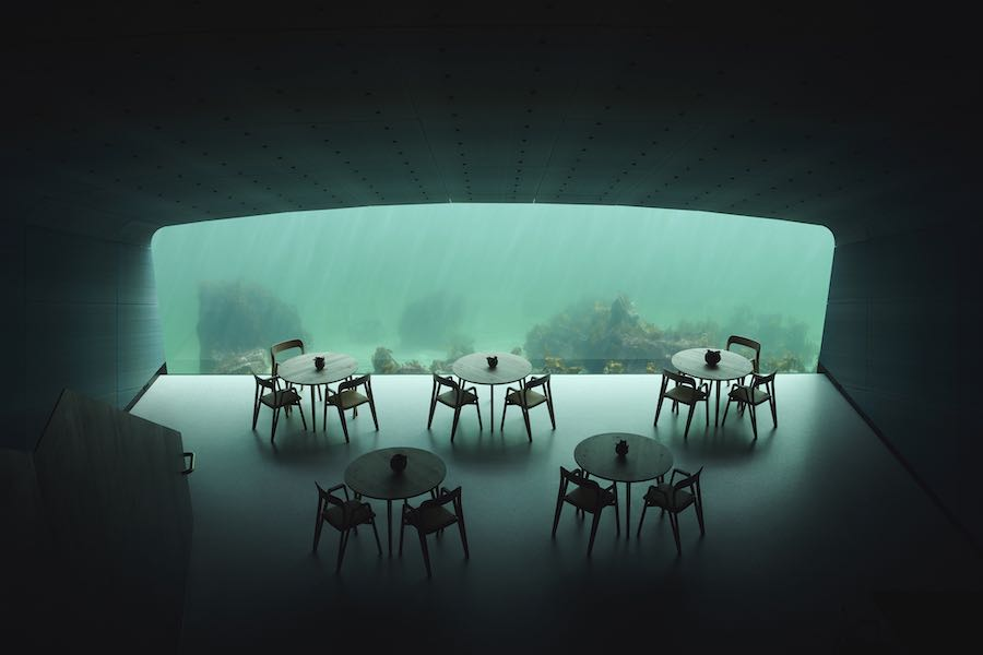 UNDER restaurant by Snøetta - Photo by © Ivar Kvaal.