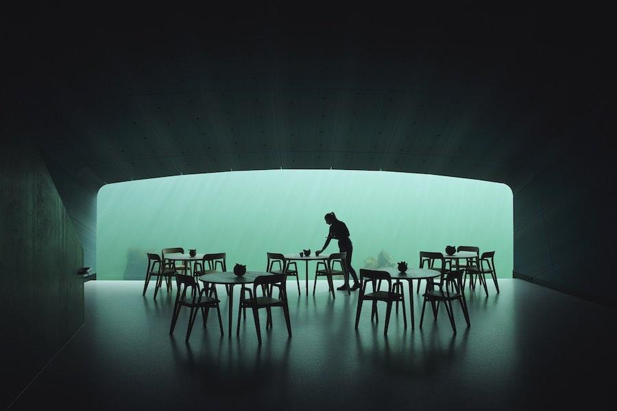UNDER restaurant by Snøetta - Photo by © Ivar Kvaal.