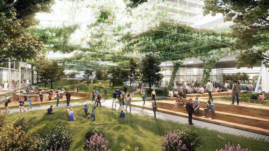 Decumano - Carlo Ratti's masterplan for Milan's World Expo site - Image by Carlo Ratti Associati..