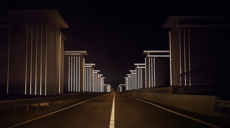 Gates of Light - ©Dan Roosegaarde.