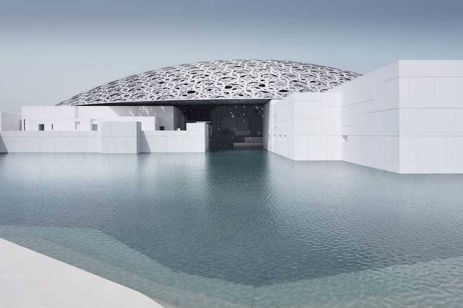 Louvre Abu Dhabi Exterior – Photo by Mohamed Somji.