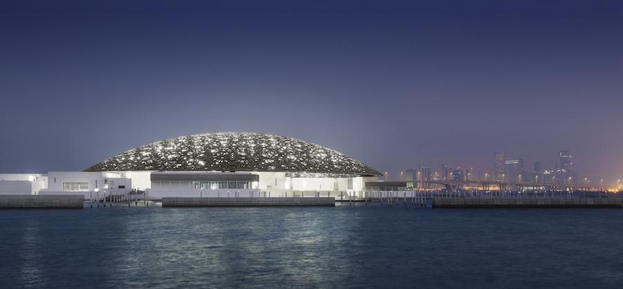 © Louvre Abu Dhabi Rain of Light - Photo by Mohamed Somji.