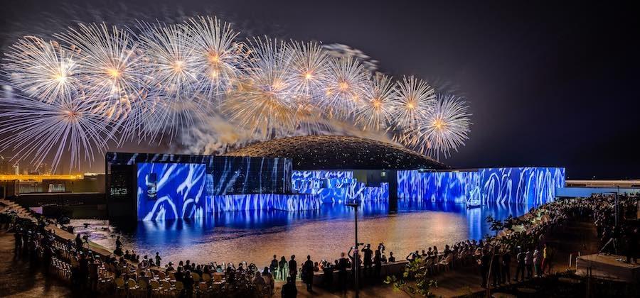 Inauguration of Louvre Abu Dhabi – Photo by Vartan Kelechian.