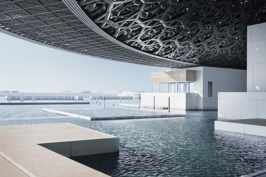 © Louvre Abu Dhabi Rain of Light – Photo by Mohamed Somji.