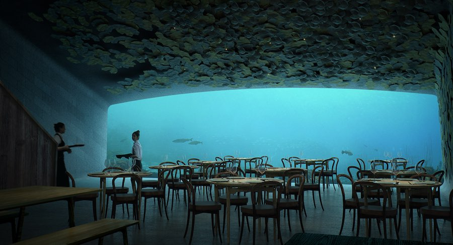 UNDER restaurant by Snøetta -image by Snøetta.