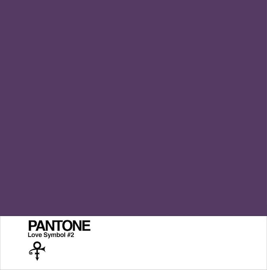 Love Symbol#2: Pantone's tribute to Prince - ©Pantone.
