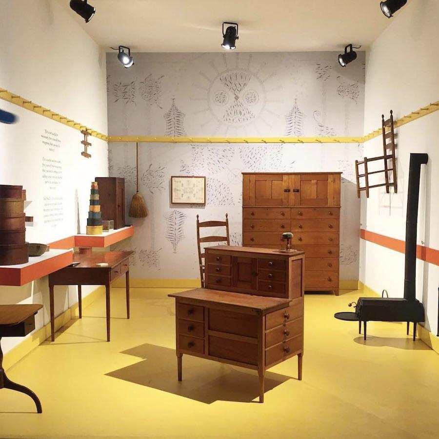 DesignMiami/ 2017: Shaker Furniture - Photo by @navva_m, IG.
