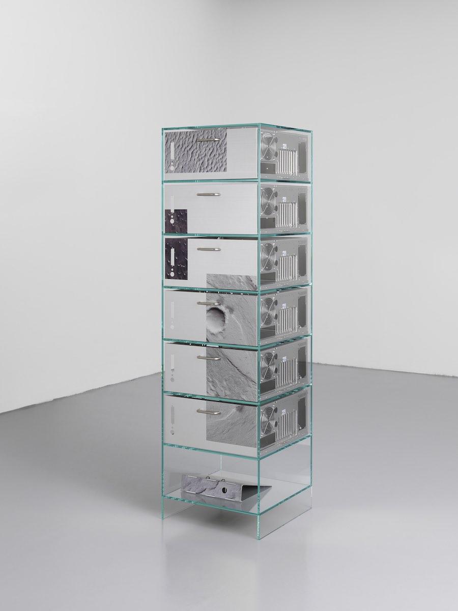 Ore Streams cabinet - Photo by Formafantasma.