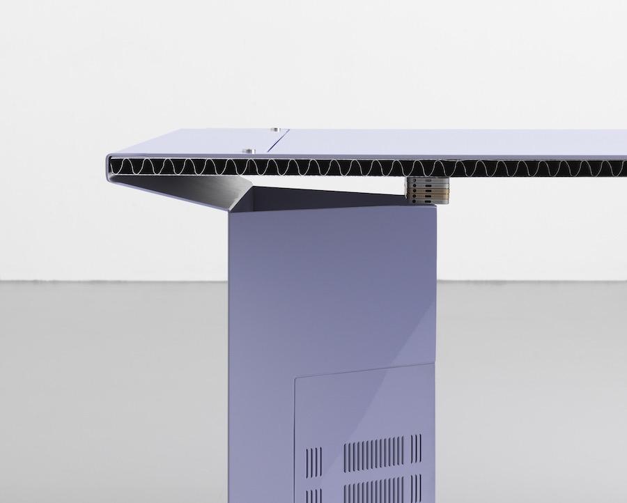 Ore Streams table - Photo by Formafantasma.