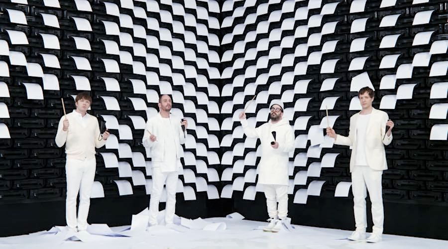 OK GO Obsession - Frame from the official music video.