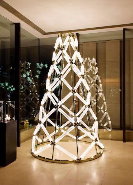 Lasvit Christmas Tree in HK