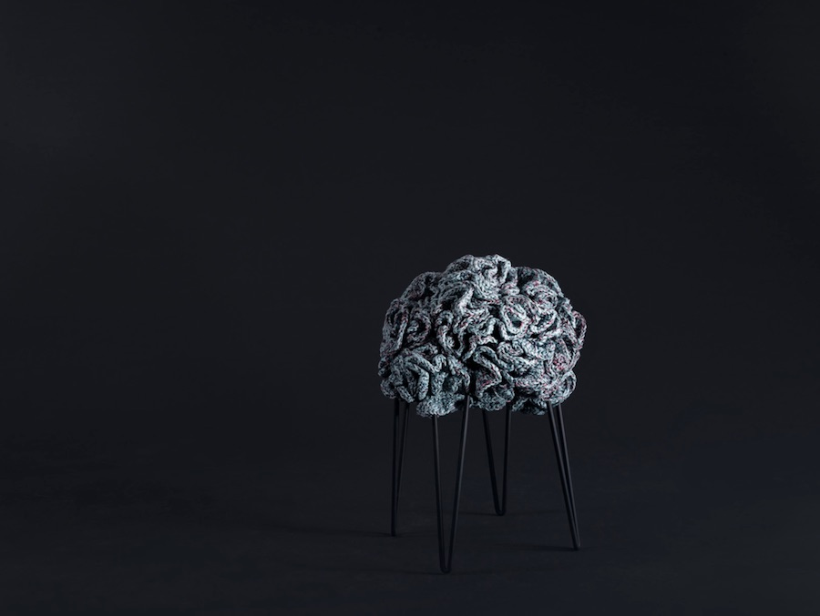 Pouf stool - Courtesy of IOTA.