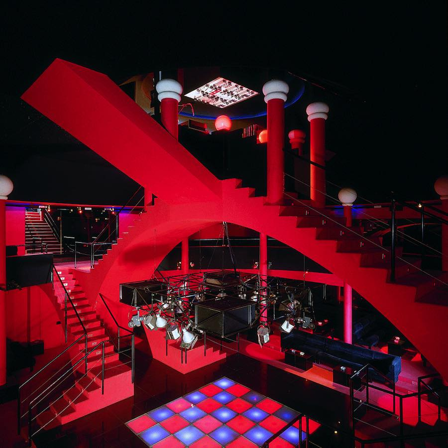 Discotheque Flash Back, Borgo San Dalmazzo, ca. 1972. Interior Design/ Studio65. Photo/ © Paolo Mussat Sartor