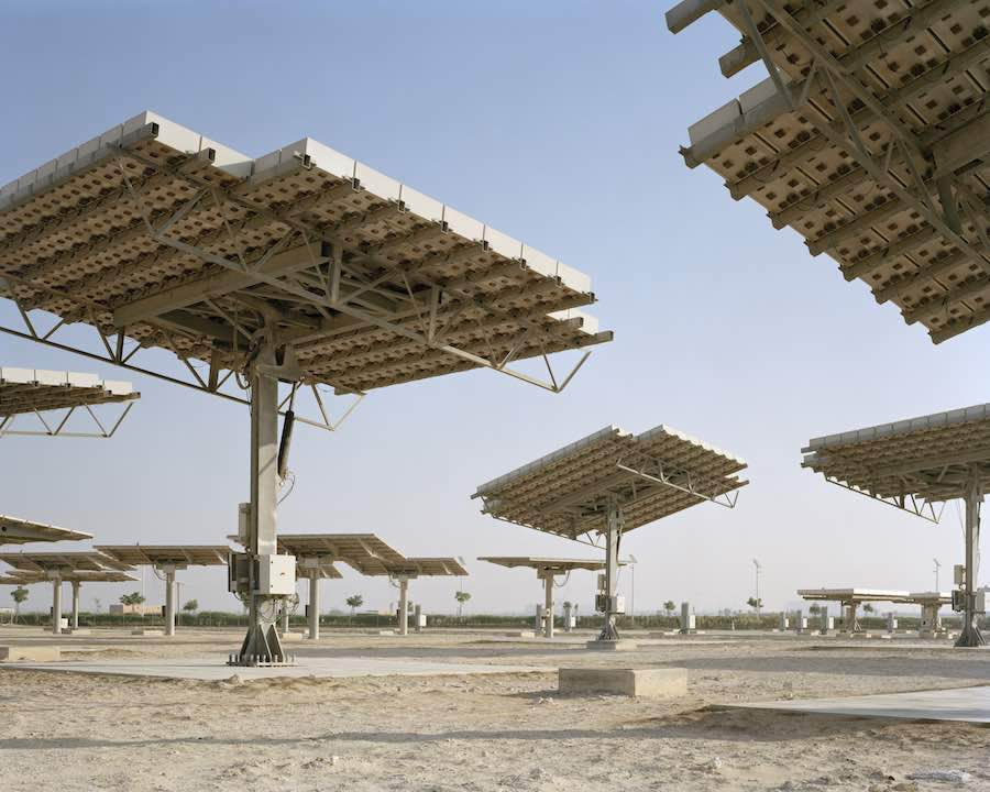 Masdar City, the world's first carbon-neutral, zero-waste city, Foster + Partners. Photography by Eteienne Malapert, 2006 by Etienne Malapert, The city of Possibilities, Ecal.