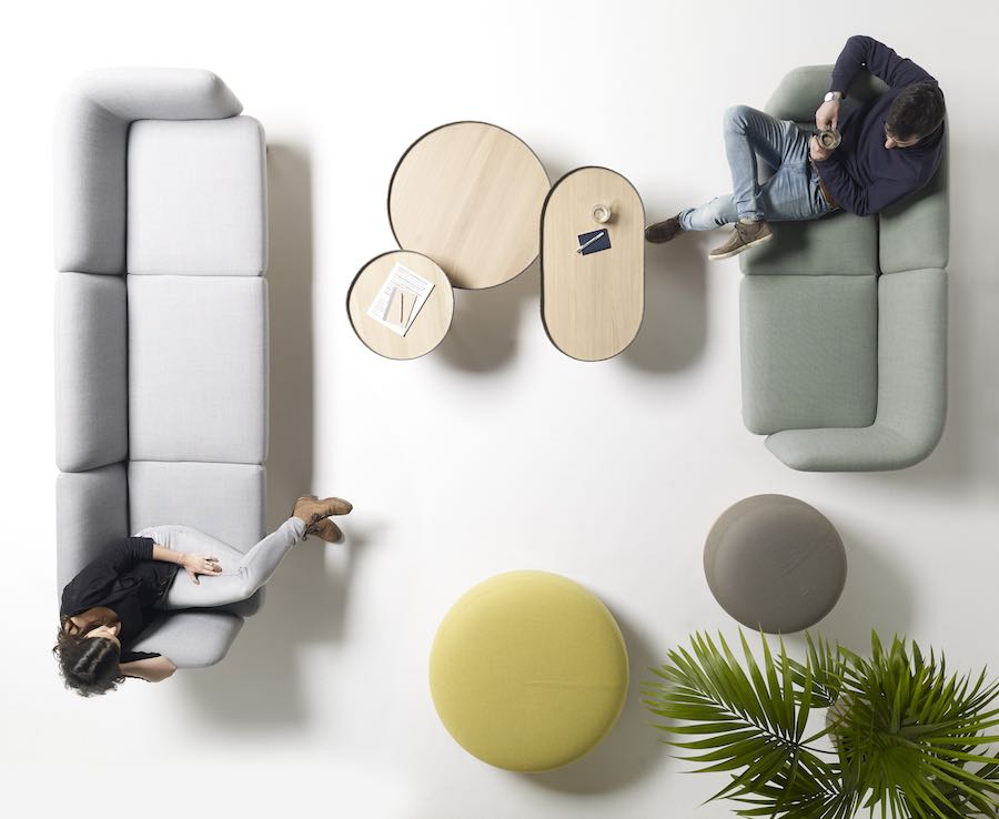Alki: Egon office furniture collection by Iratzoki Liaso Design Studio. Photo: courtesy of Alki.