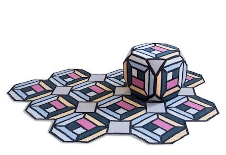 Carpets fold into furniture