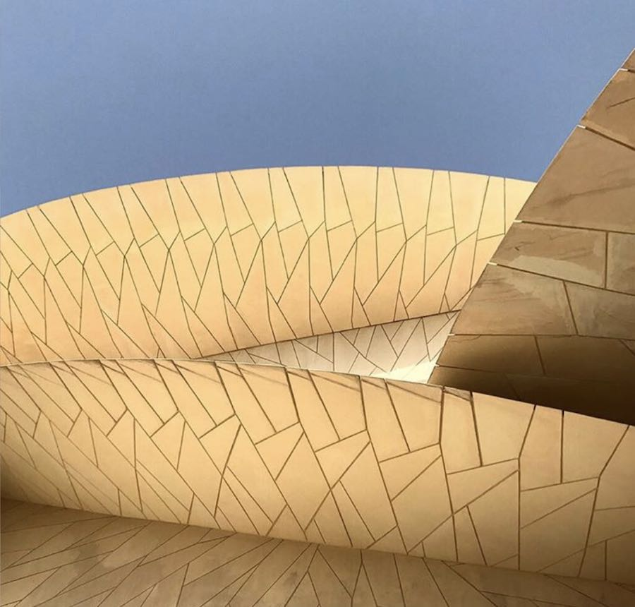 Qatar National Museum - Photo by @aeadesigns via IG.