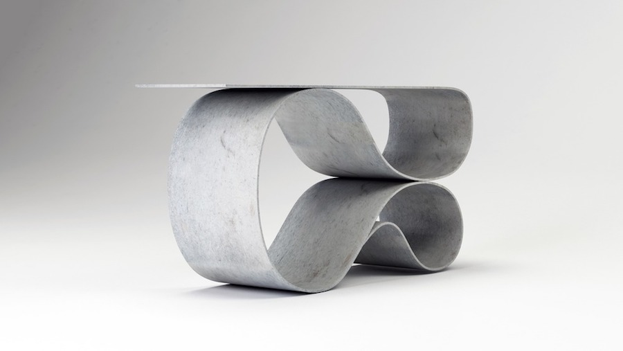 Neal Aronowitz Concrete Canvas collection - WHORL console - Photo by Miroslav Trifonov