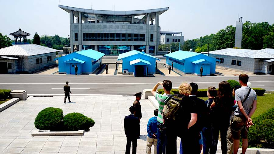DMZ from North Korea side - Photo by Uri Tours CC