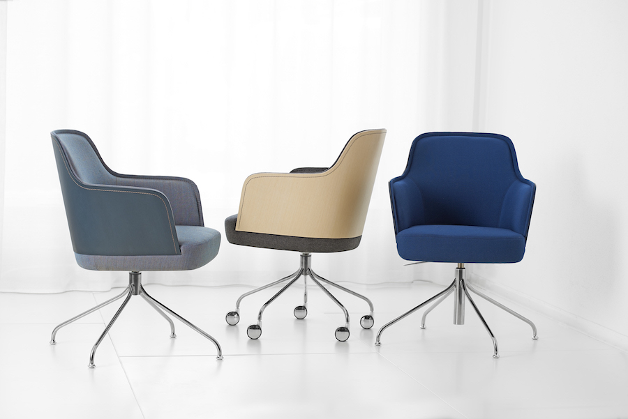 5 contemporary Nordic seats. Mr N by Färg & Blanche for Garsnas - Photo by Färg & Blanche.