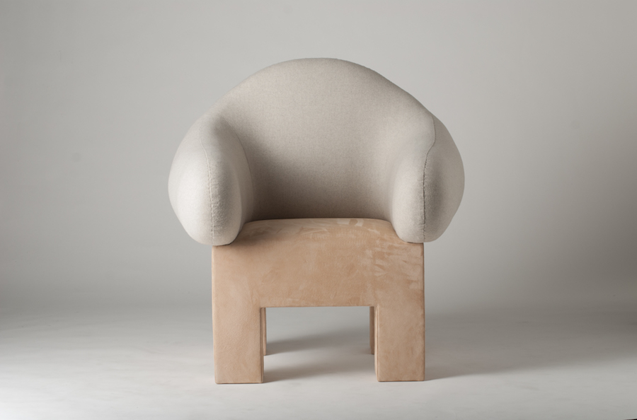 5 contemporary Nordic seats.  Mammoth armchair by Rebecca Petrini and Joel Fjallstrom - Courtesy of Stockholm Furniture & Light Fair.